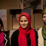 (L-R) Kobra, Anisa & Sahema